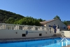 Single floored house with guesthouse and pool Ref # 2343