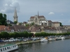 auxerre as seen from the river