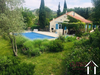 Spacious house (165m²) with 4 bedrooms, garden (1835 m²)  pool and garage Ref # MPOP0071