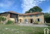 Renovated farmhouse on 8000m2 with barns near Trie sur Baïse Ref # MPPC2043