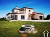 Modern Villa with garden and beautiful views on the Pyrénées. Ref # MPPOA1870