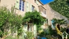 Two large attached houses/gîtes (551m2) with private gardens (65m2) Ref # MPPOP0096