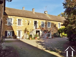 Character stone farmhouse with B&B,  gite and outbuildings