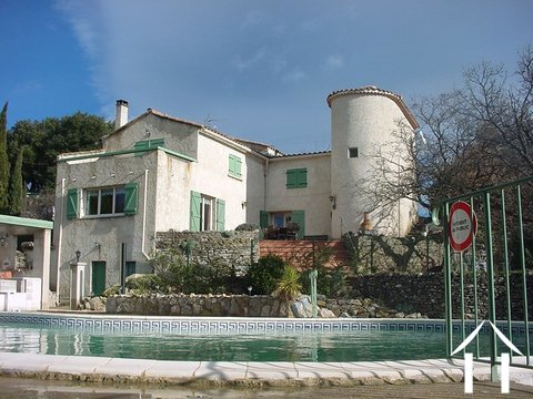 A property with a view in the heart of Languedoc Ref # 11-2387 Main picture