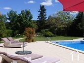 Villa with pool and views near a bike track in a AOC region Ref # 11-2393 image 3