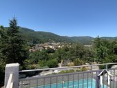 Mediterranean villa with pool and stunning views in Lamalou  Ref # 2401 image 2
