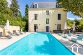 "Detached and renovated ""Maison de Maître"" with heated pool  Ref # 11-2404 image 2"