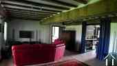 House with 6 rental units and pool in burgundy countryside Ref # MP5066V image 22 40 m2 living room in owners' apartment