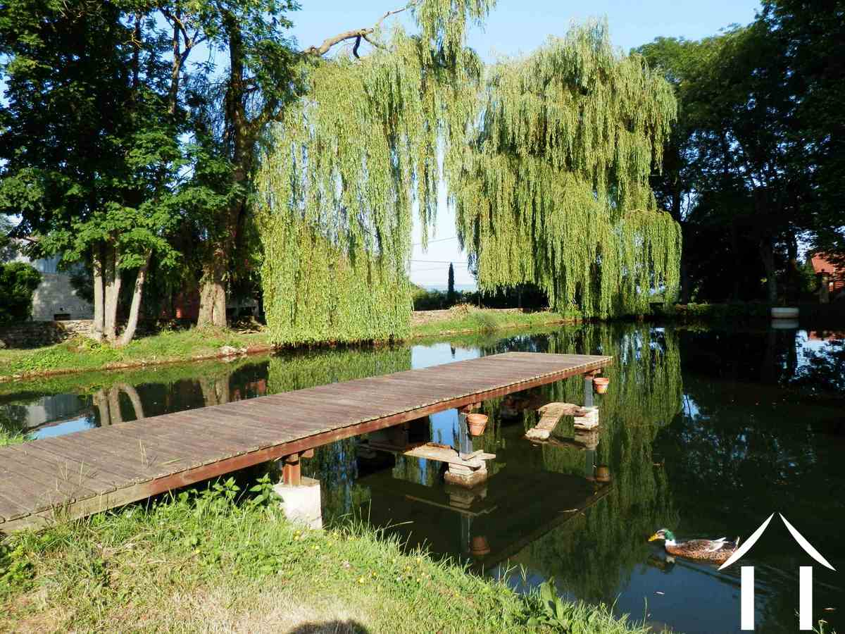 Character house for sale nolay burgundy 12384 for Chalet avec piscine