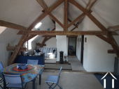 Living room upstairs farm house
