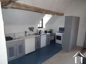 House with 6 rental units and pool in burgundy countryside Ref # MP5066V image 11 Kitchen updstairs apartment of Farmhouse