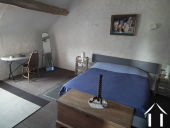 House with 6 rental units and pool in burgundy countryside Ref # MP5066V image 12 Bedroom upstairs farm house apartment