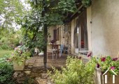 Village house with 3 bedrooms, garden and views  Ref # JP5101S image 7 shady terrace in the summer