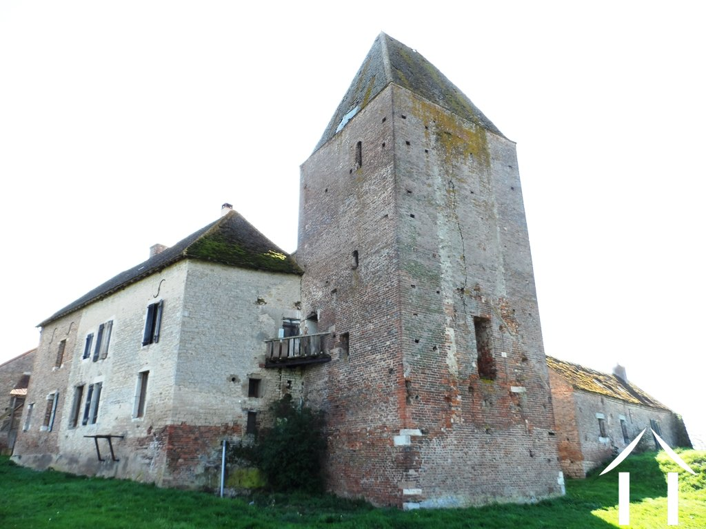 Medieval castle with 5 hectares of land