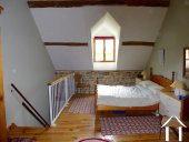 Converted farmhouse with guest house and barns Ref # CR5067BS image 8 Bedroom 2 with en suite