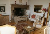 Farmhouse with Apartment Barn & Stunning Views Ref # RT4886P image 4 Burgundian fireplace