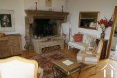 Farmhouse with Apartment Barn & Stunning Views Ref # RT5077P image 4 Burgundian fireplace