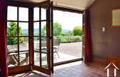 Grand character house, 2 gites, pool and views near Cluny Ref # JP5060S image 23