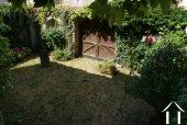 Enclosed walled garden