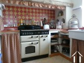 Kitchen range cooker
