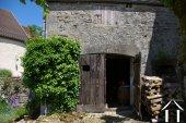 one of three barns