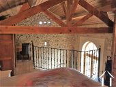 guest cottage mezzanine