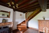 oak stairs to first floor