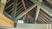 Beam structure in attic