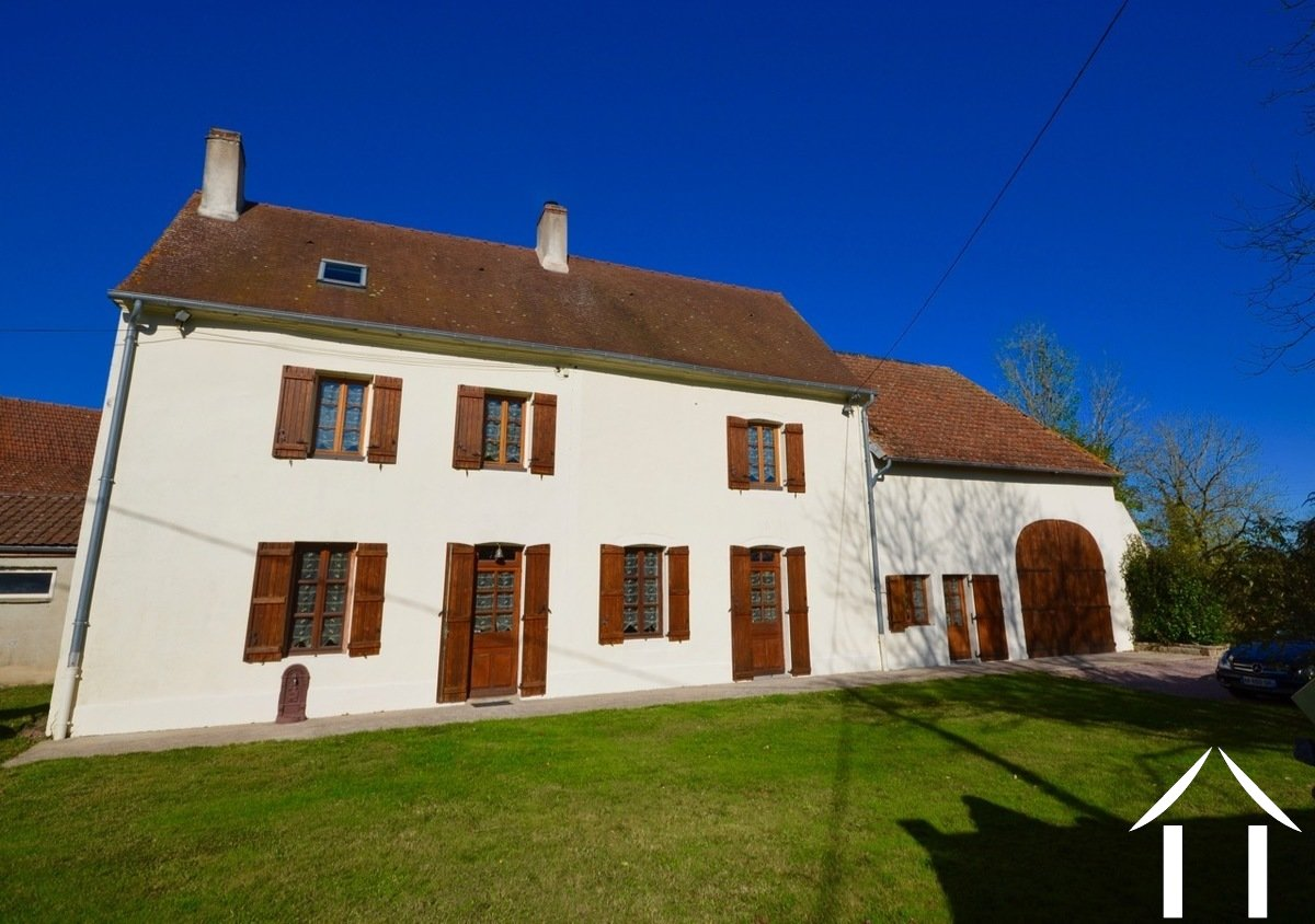 Character house, near to Autun