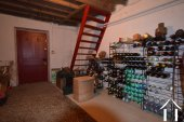 wine cellar next to the garage