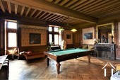 Authentic 13th to 19th century Castle Ref # JP5016S image 10 Billiard room on the first floor