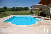 Large and comfortable country house with lovely views. Ref # BH1957V image 18 heated pool