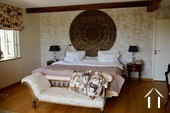Large and comfortable country house with lovely views. Ref # BH1957V image 9 master bedroom with bathroom and dressing