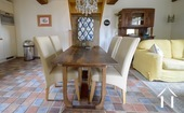 Large and comfortable country house with lovely views. Ref # BH1957V image 22 dinning area cottage