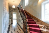 grand staircase to the upper floor