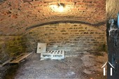 vaulted cellar under the kitchen