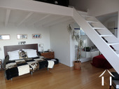 Bright modern house with pool and view Ref # CR5036BS image 7 Chambre en suite+mezzanine