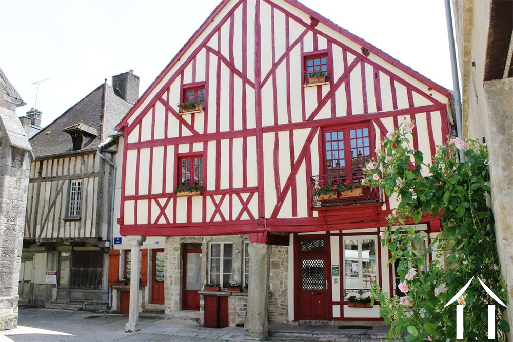 Medieval house, in Nolay centre with Gite and B&B