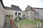 House with barn to reconstruct in wine village Ref # BH4959V image 11 facade de la ruine