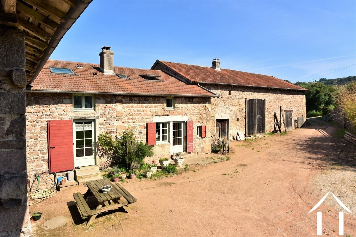 Renovated farm with outbuildings