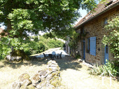 Converted farmhouse with guest house and barns Ref # CR5067BS image 12 House & garden
