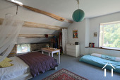 Cosy house in Hautes Côtes de Nuits Ref # CR5105BS image 6 Upstairs bedroom
