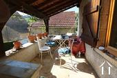 Cosy house in Hautes Côtes de Nuits Ref # CR5105BS image 5 Terrace