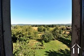 1 bedroom stone house with large barn and courtyard Ref # JP4852S image 5 view from upper window