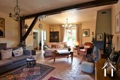 Renovated country house with barn, pool and great views Ref # JP4848S image 10 double aspect salon