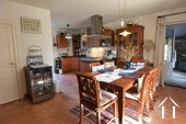 Renovated country house with barn, pool and great views Ref # JP4848S image 11 dining area next to the kitchen