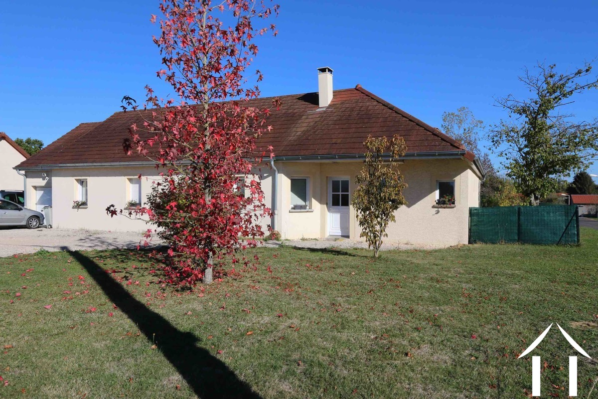 Large family house in quite village