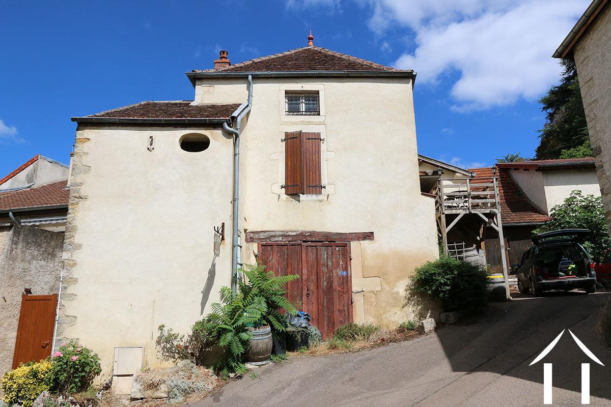 House near neo-feudal castle, renovation project