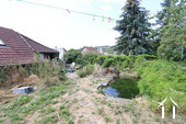 House near neo-feudal castle, renovation project Ref # CR4914BS image 6 Garden with pond
