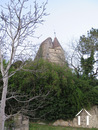 House near neo-feudal castle, renovation project Ref # CR4914BS image 14 Vue on the castle